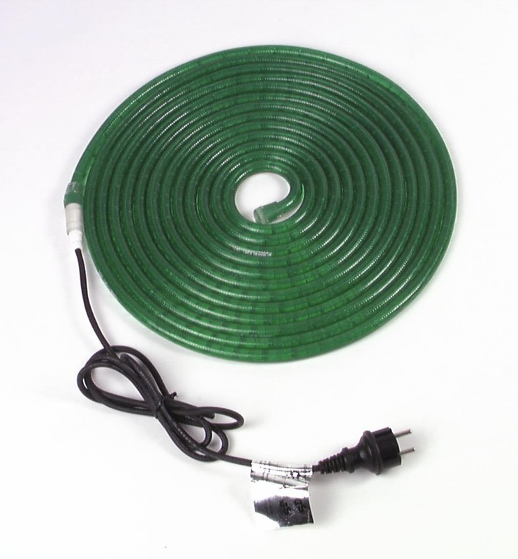 Rubberlight 9, zelený, 9m