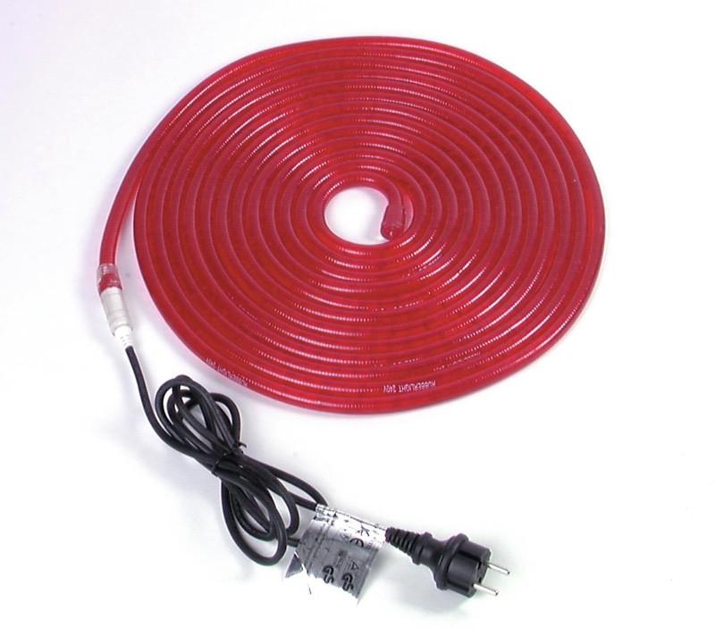 Rubberlight 5, červený, 5m