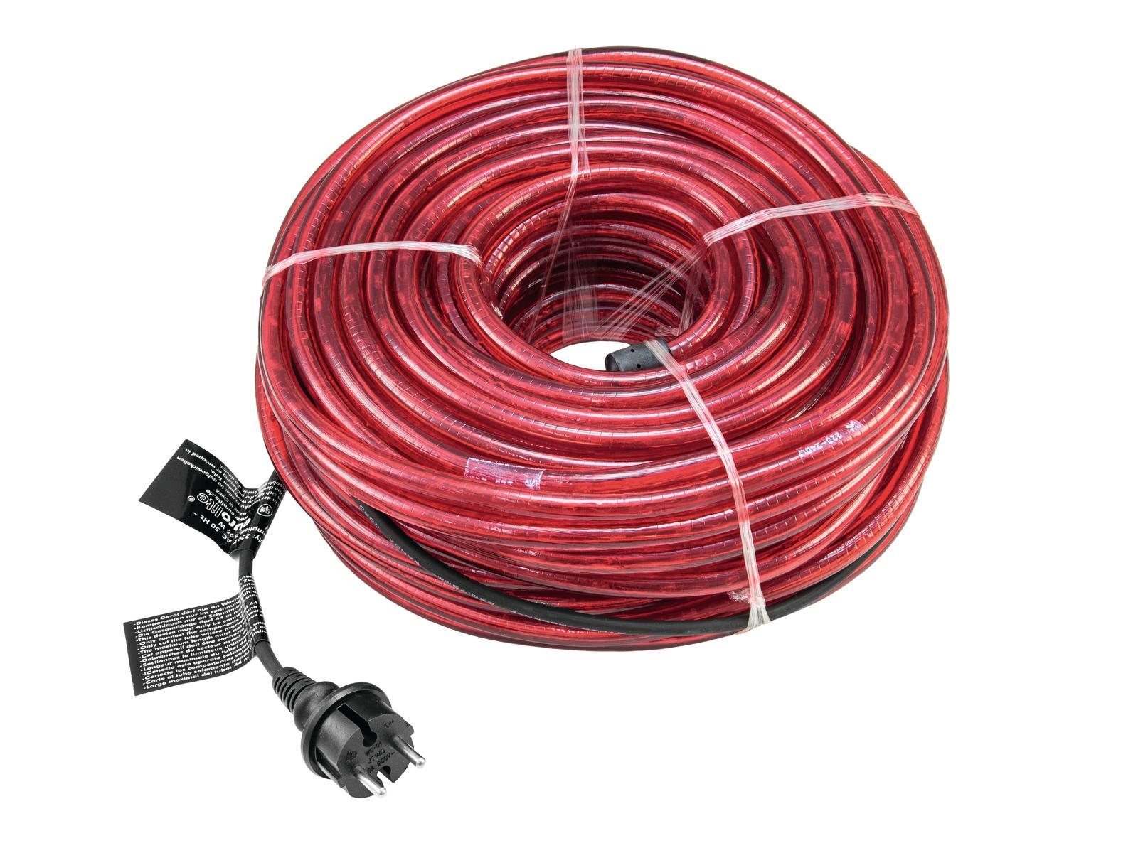 Rubberlight LED RL1-230V, červený, 44 m