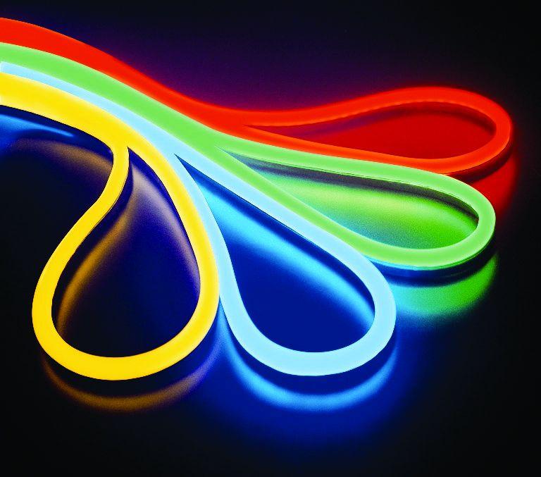 LED neon 24V, modrý