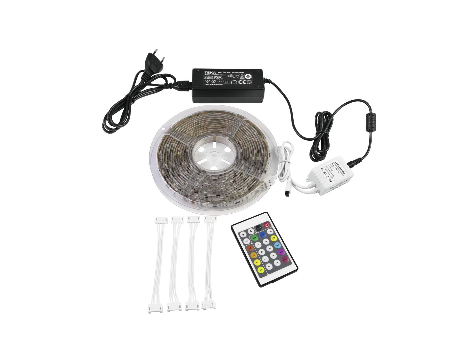 Eurolite LED IP Strip Set Deluxe 5m RGB
