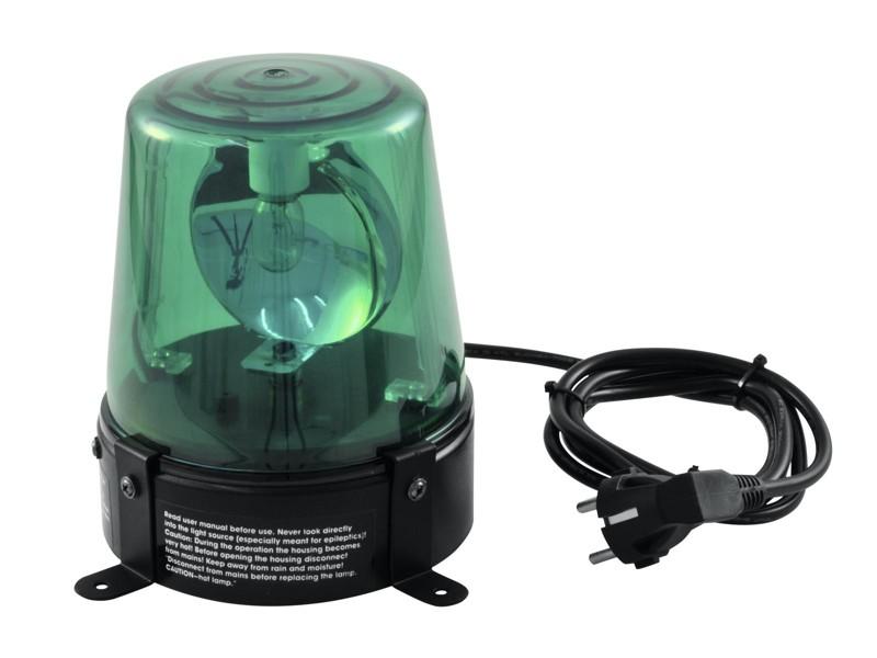 Maják, zelený, 230V/18W