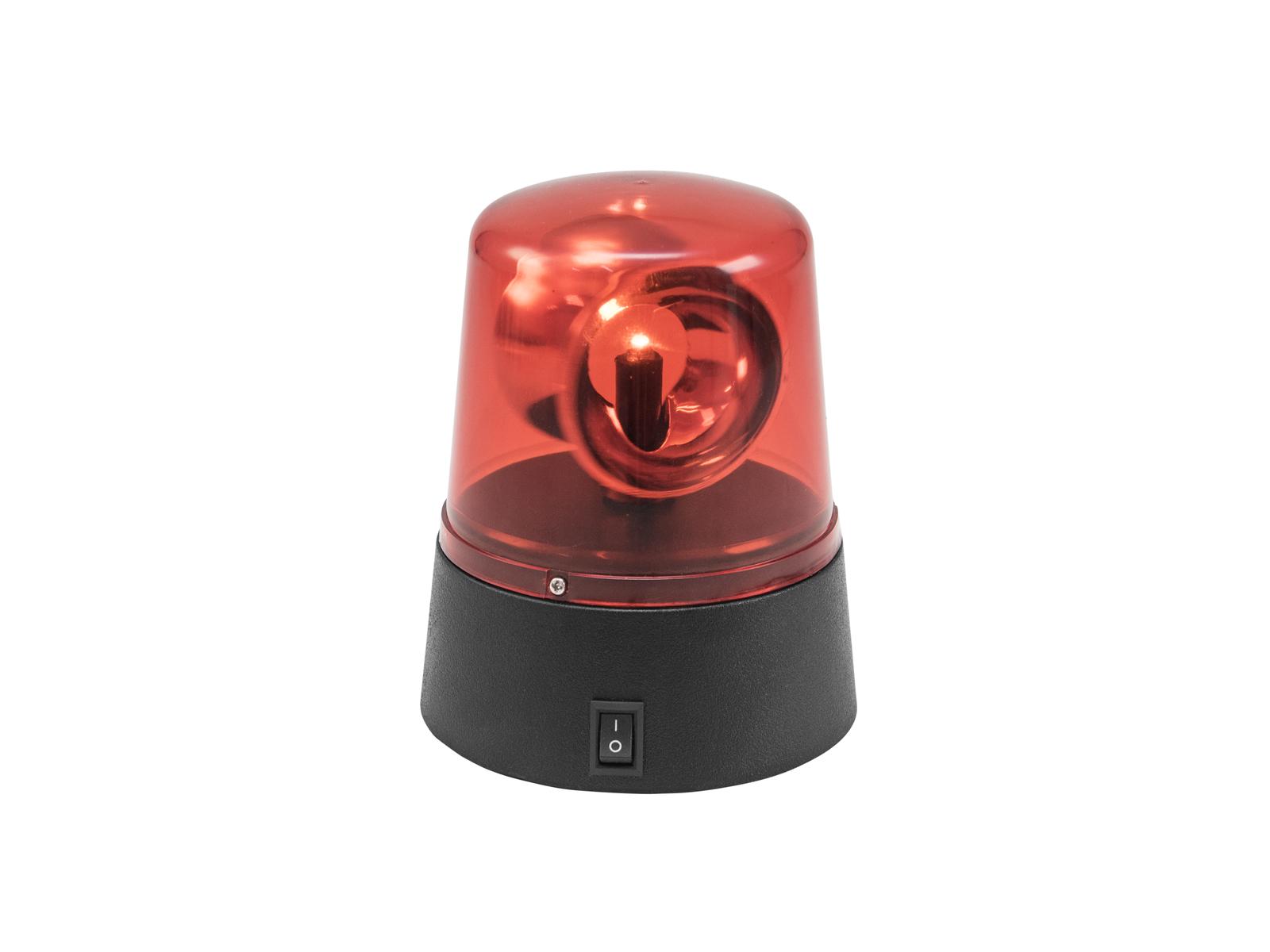 Eurolite LED mini policejní maják, červený