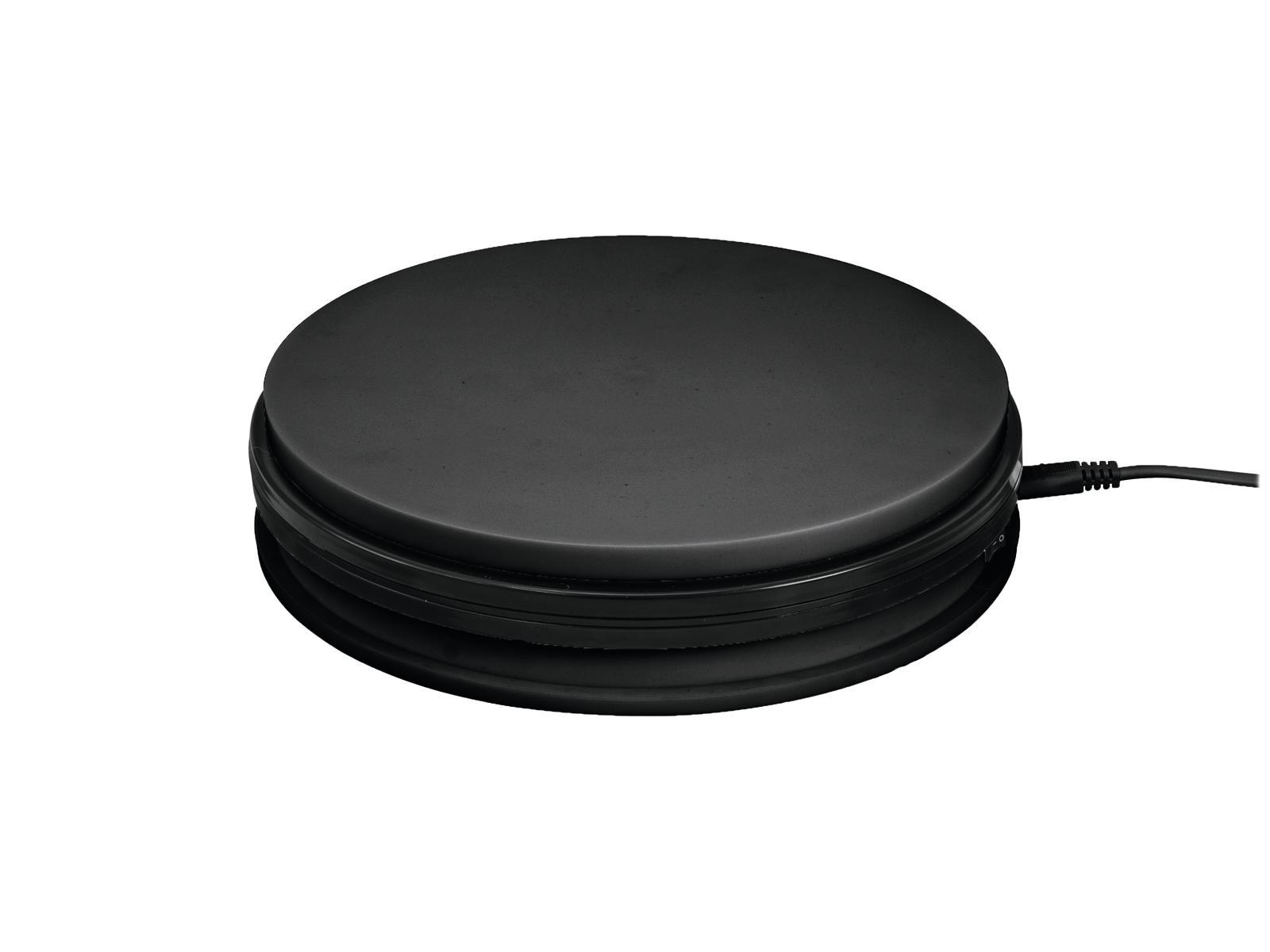 Podstavec rotační 450mm, do 50kg, 0,5 o/min, černý
