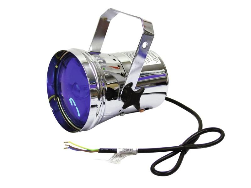 PAR 36T, stříbrný, bodový reflektor