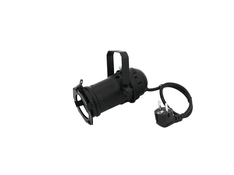 PAR 16, černý GU-10