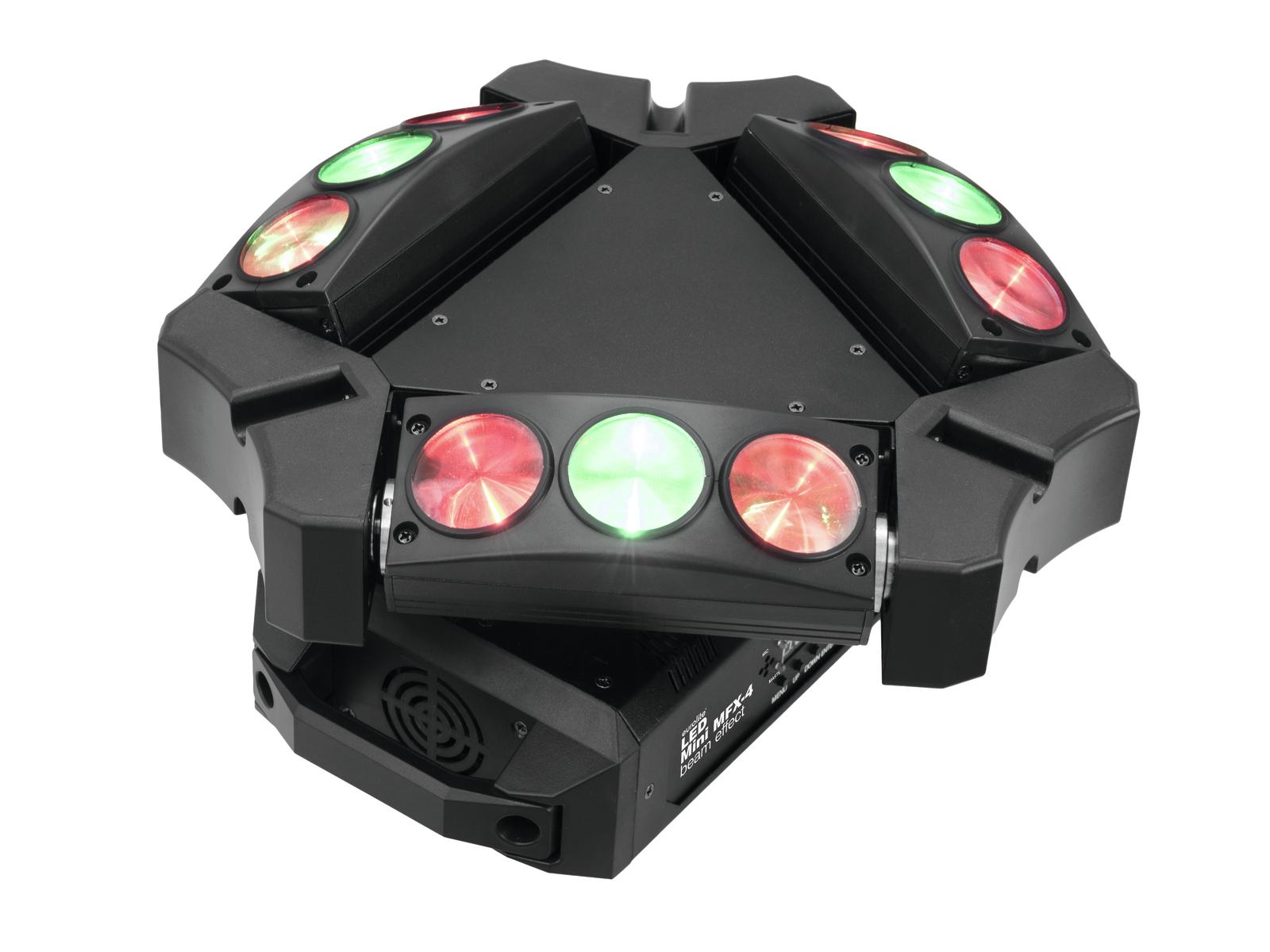 Eurolite LED Mini MFX-4, paprskový efekt