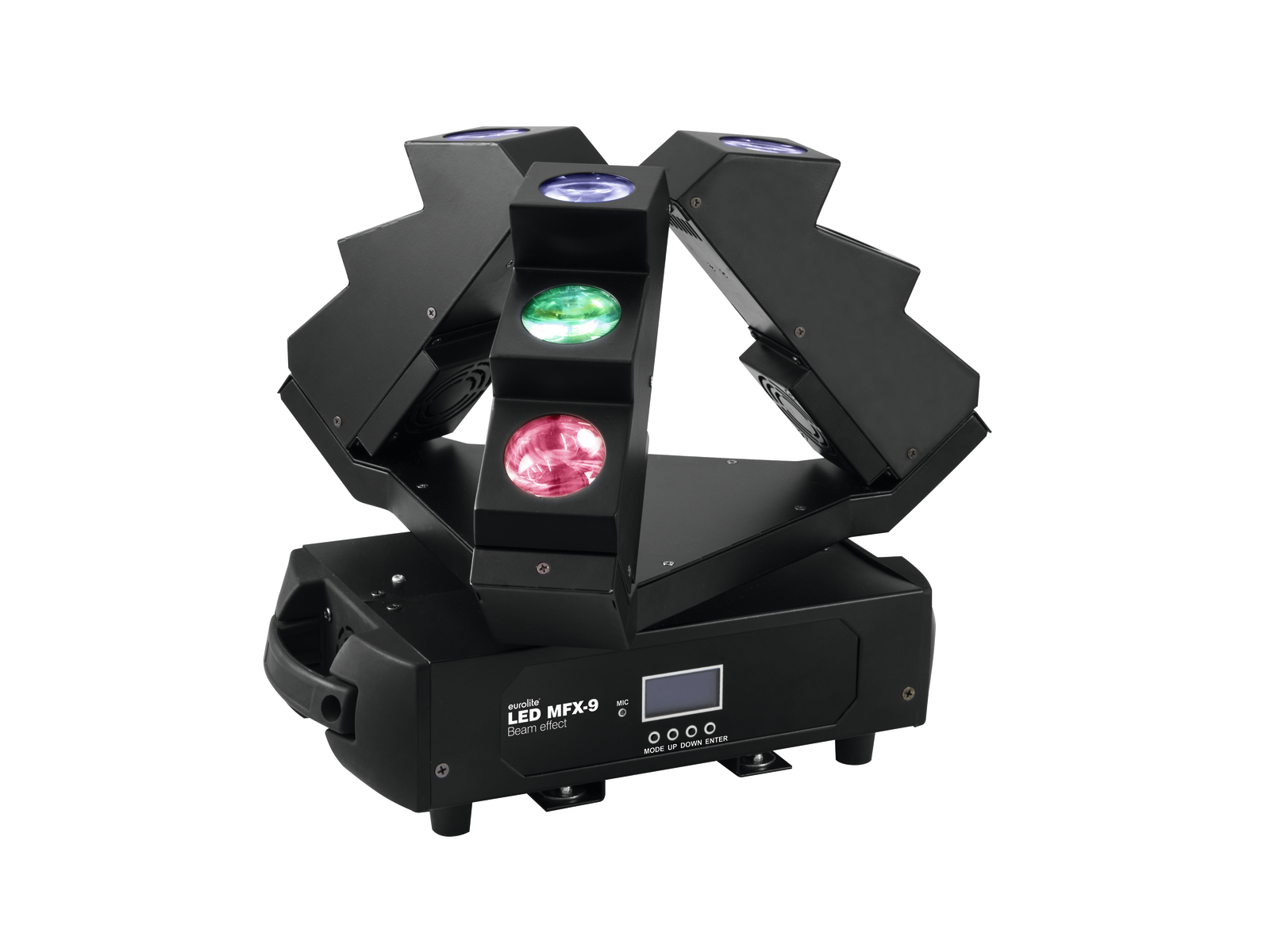 Eurolite LED MFX-9, paprskový efekt
