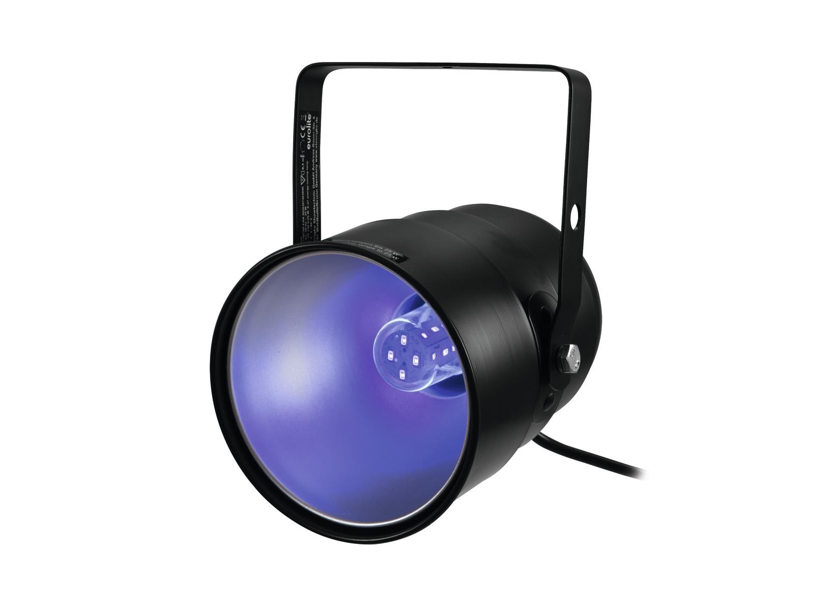 Eurolite UV-Spot, 1x 5W UV LED E-27
