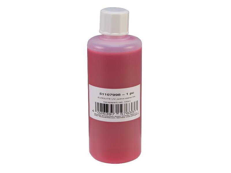 UV razítkovací barva 100ml, červená