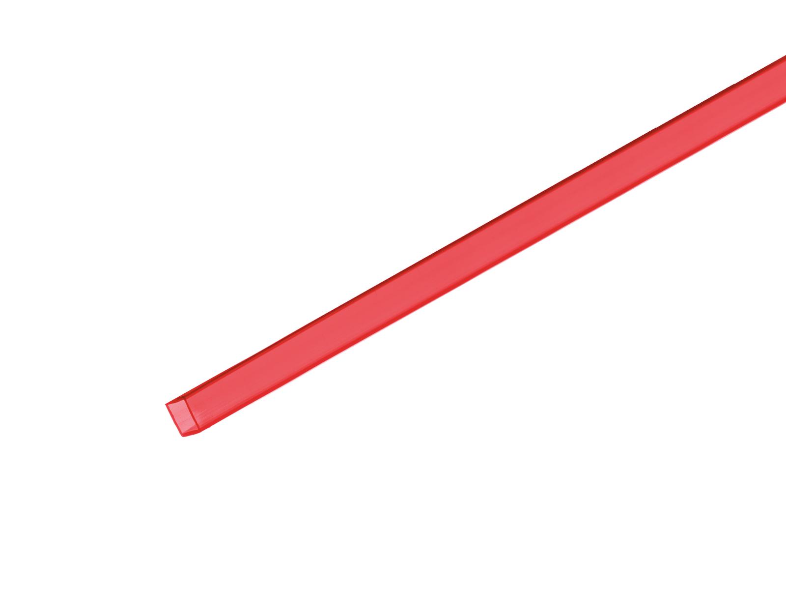 Profil 10x10mm, UV červený, 2m