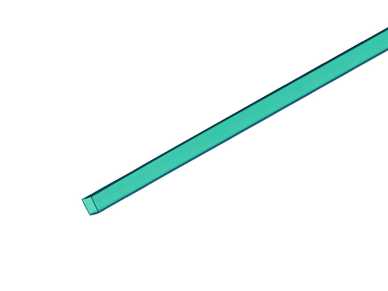 Profil 10x10mm, tyrkysový, 2m