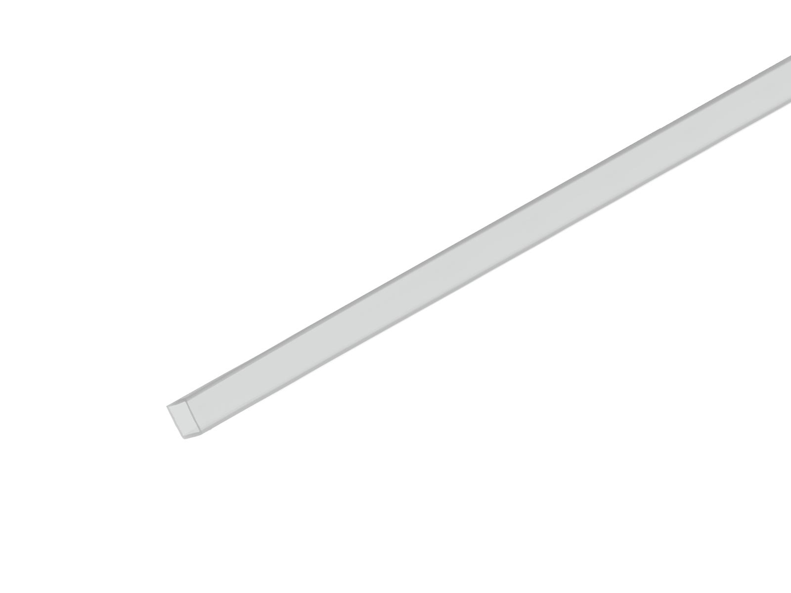 Profil 10x10mm, mléčný, 2m