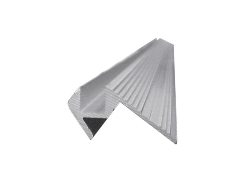 Al profil, 10x10mm, stříbrný, 4m