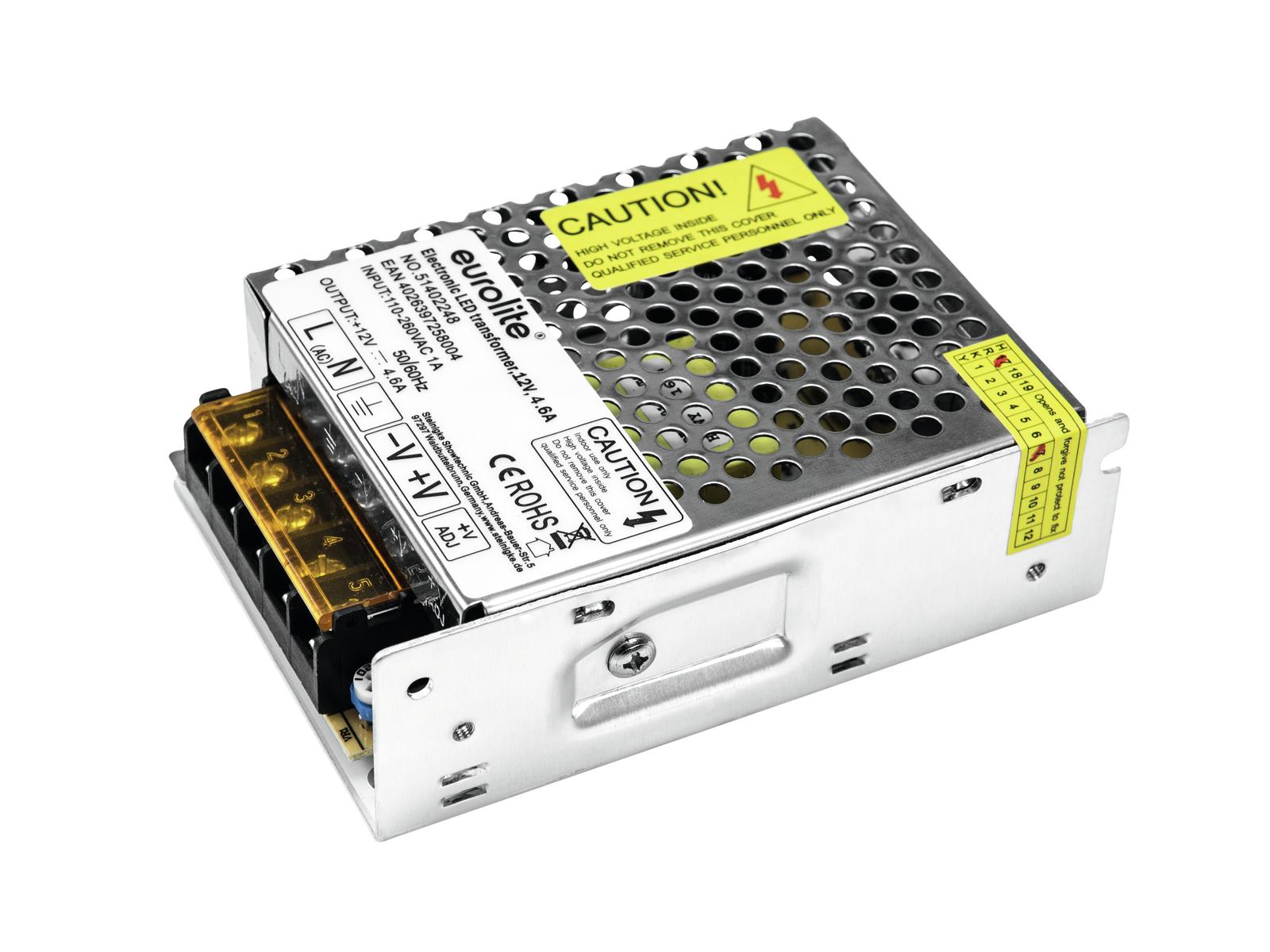 Transformátor elektronický 12V / 55W, pro LED