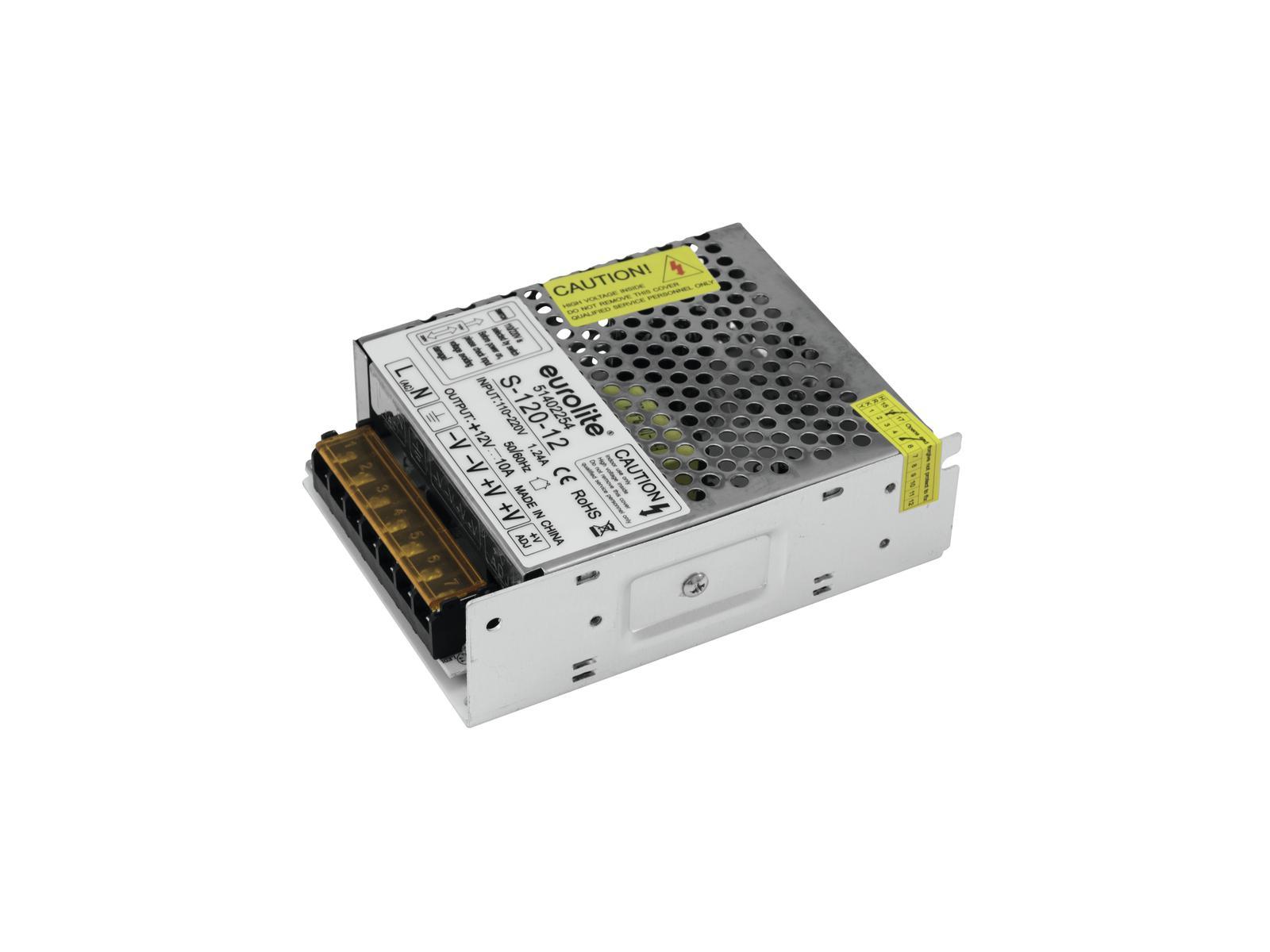 Transformátor elektronický 12V / 10A, pro LED