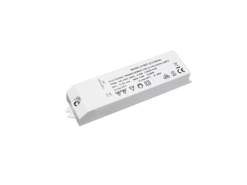 Transformátor 12V / 20-60VA pro halogenové žárovky