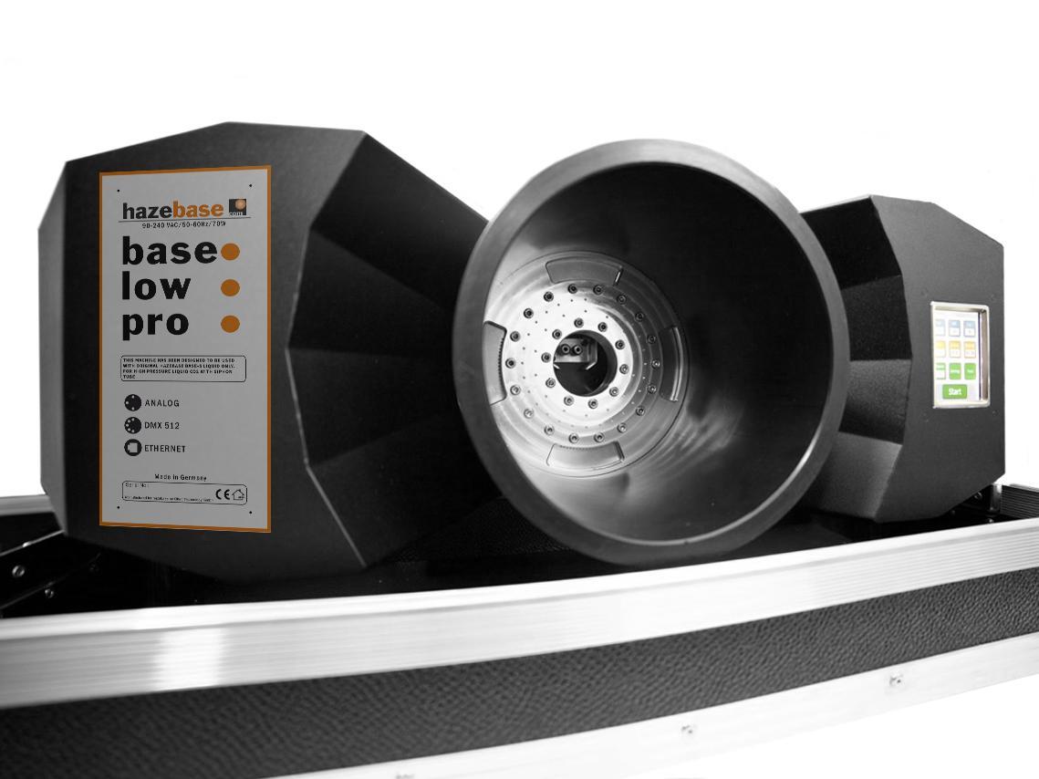Hazebase Base*Low*Pro CO-2 výrobník plazivé mlhy
