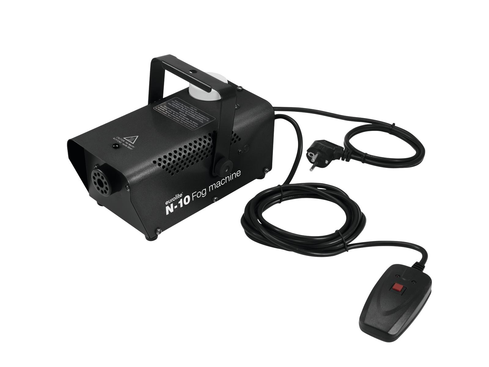 Eurolite N-10 výrobník mlhy, černý