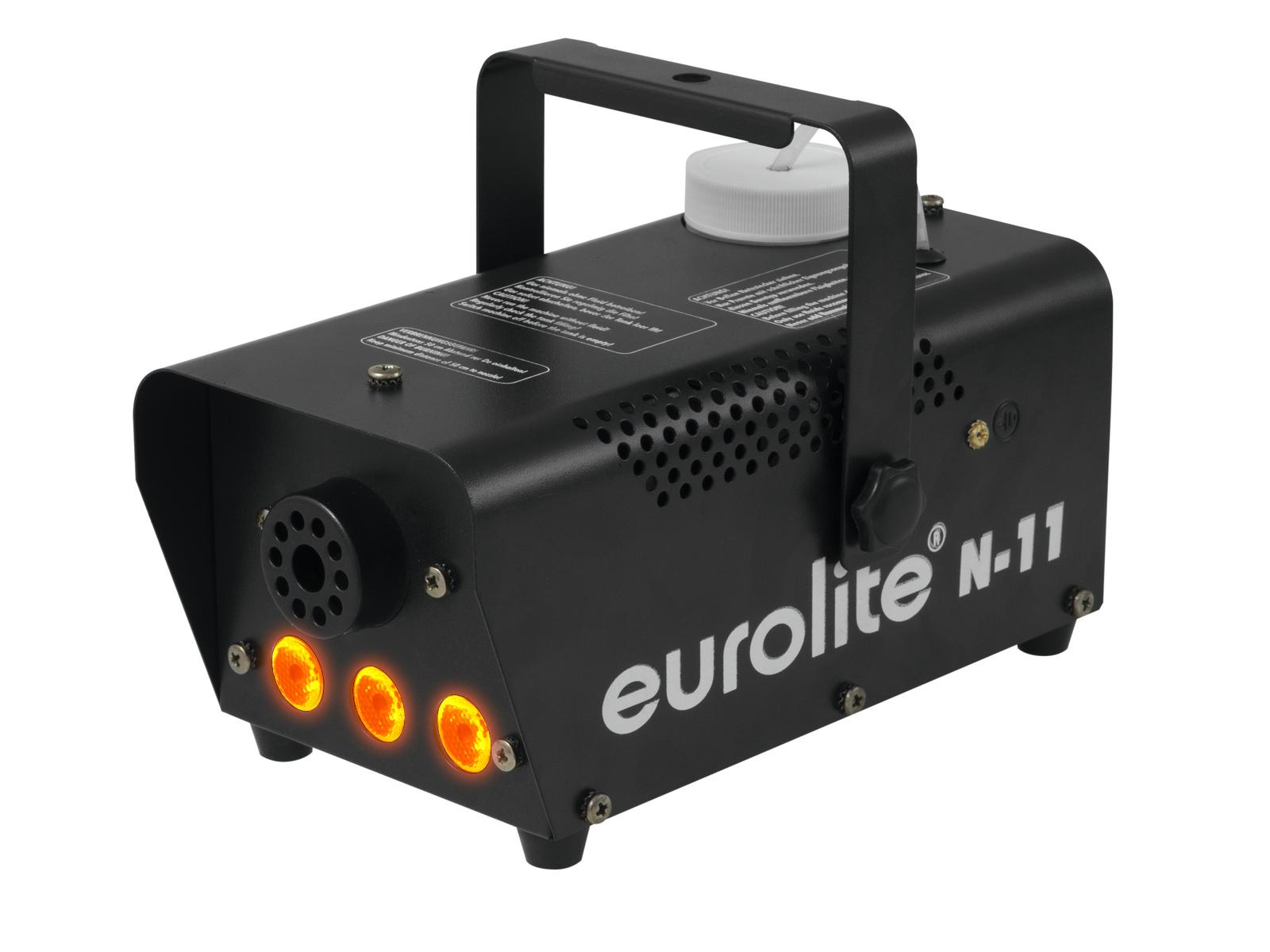Eurolite Flame LED výrobník mlhy s oranžovými LED diodami
