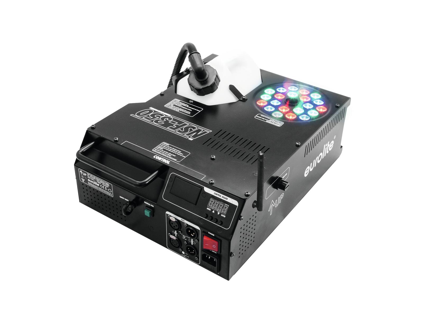 Eurolite NSF-350, LED Hybrid výrobník mlhy