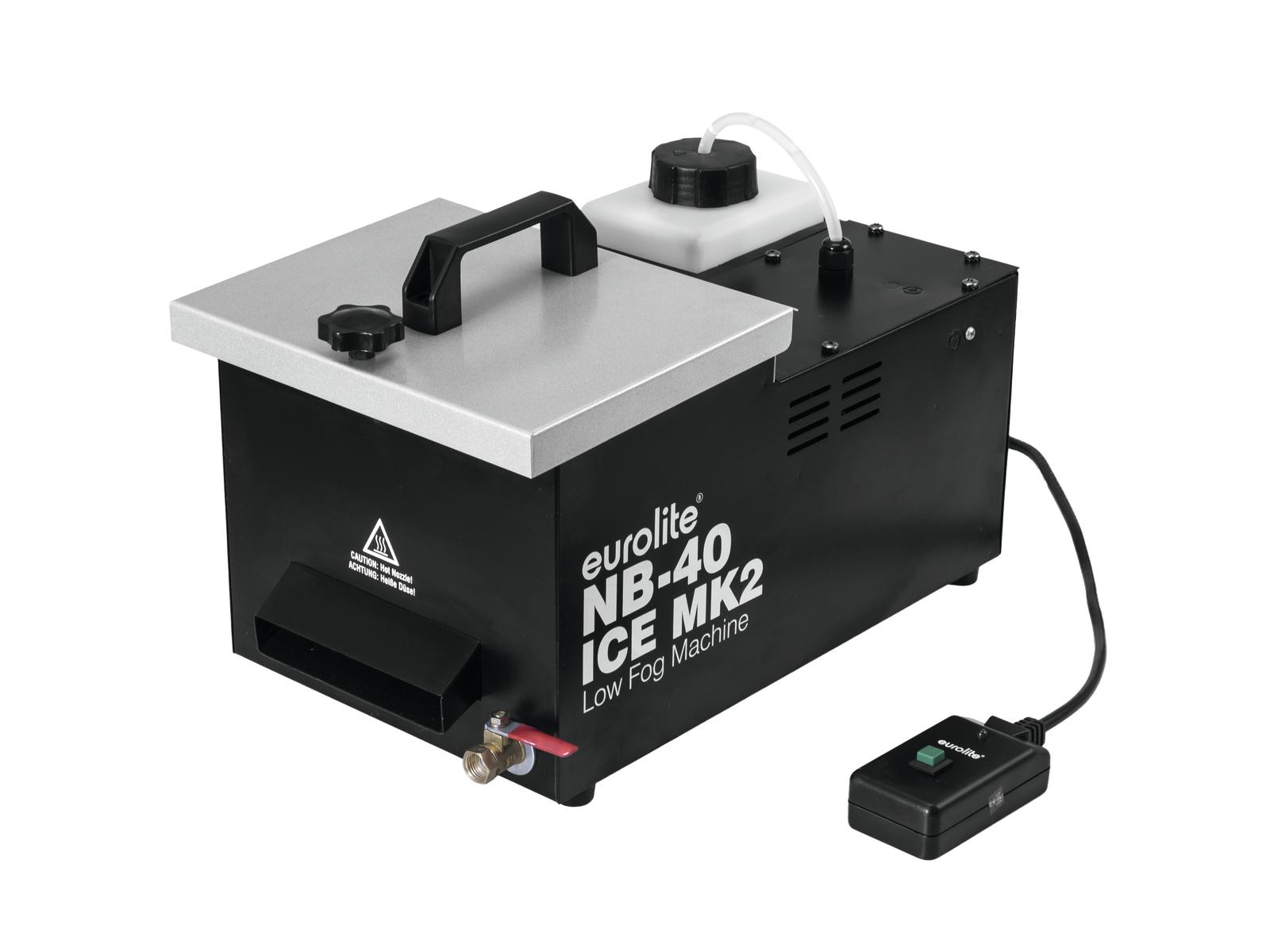 Eurolite NB-40 MK2 ICE výrobník na těžkou mlhu