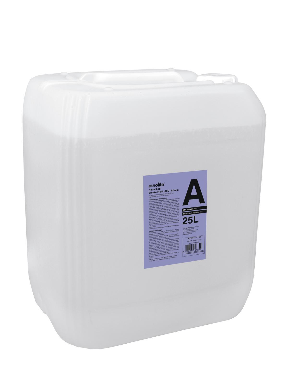 Eurolite náplň do výrobníku mlhy -A2D- Action smoke fluid 25l