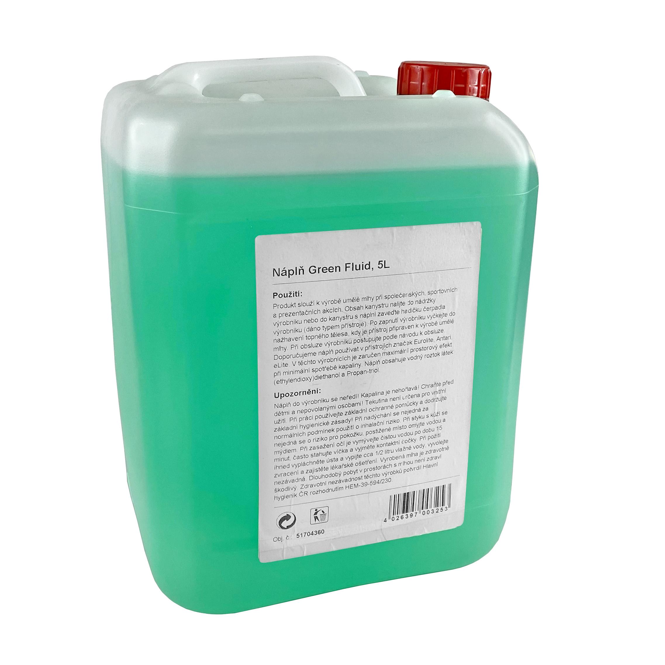 Náplň Green Fluid, 5L