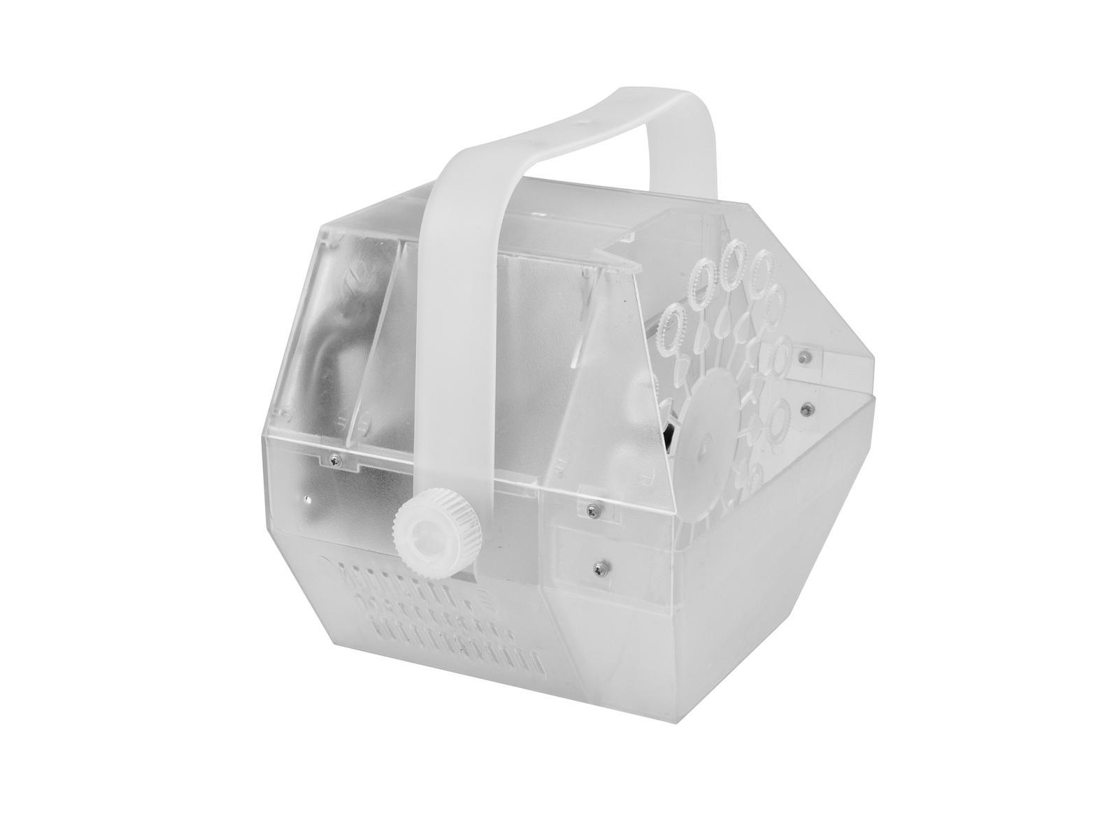 Eurolite LED B-70 výrobník bublin transparentní