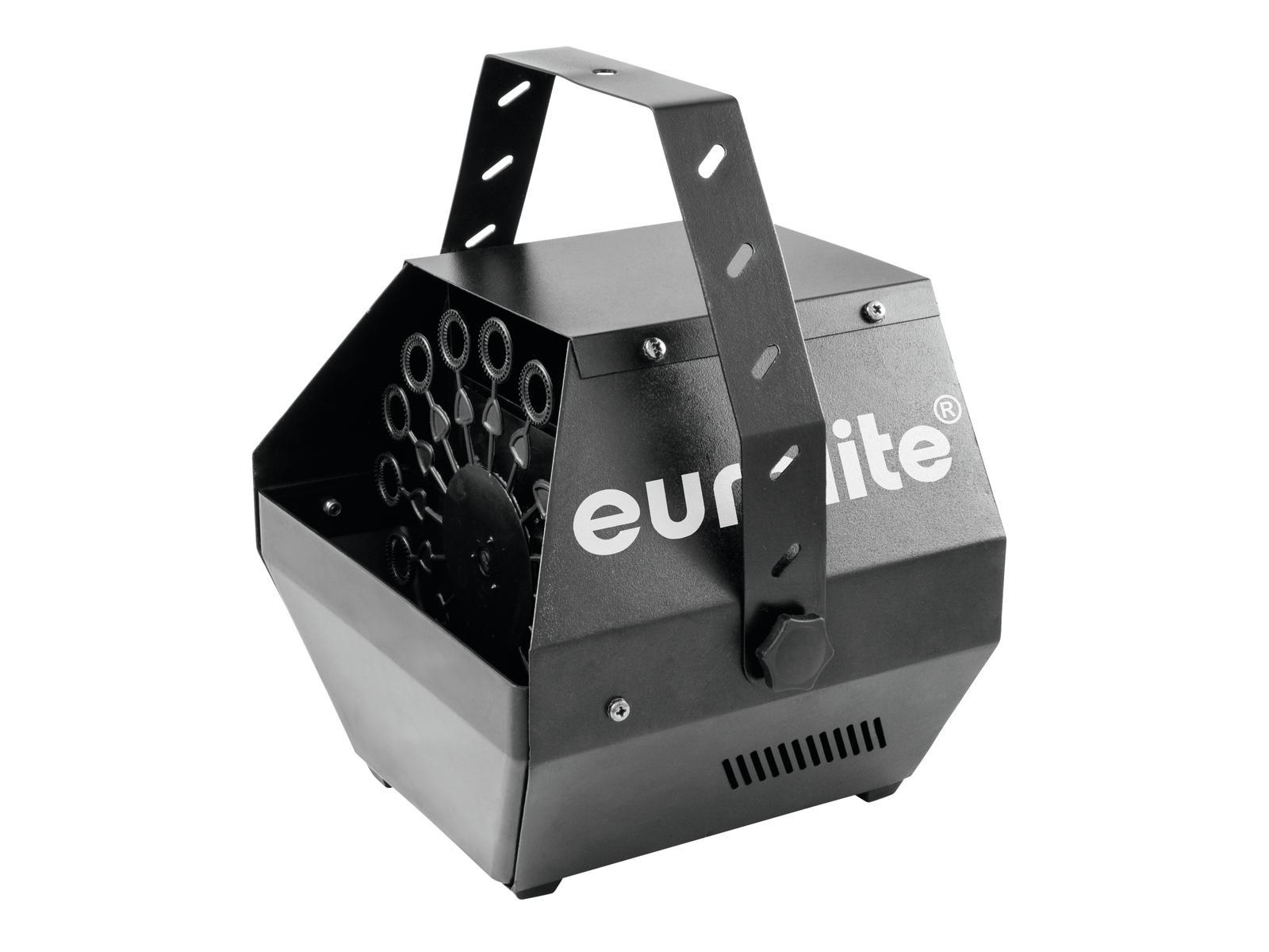 Eurolite B-100 DMX, výrobník bublin, černý