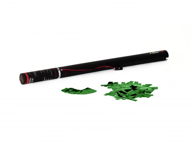Tcm Fx elektronické dělo na konfety 80cm, metalické zelené konfety