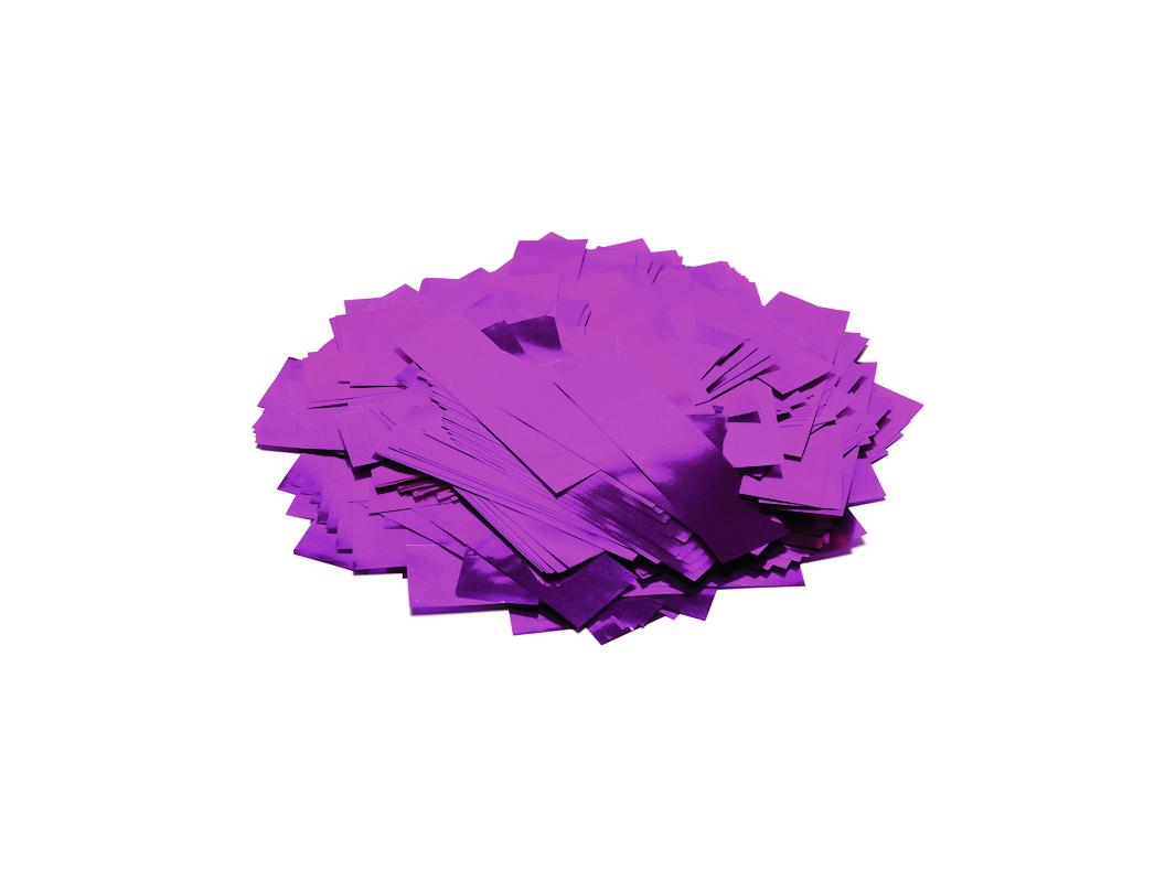 Tcm Fx metalické obdélníkové konfety 55x18mm, růžové, 1kg