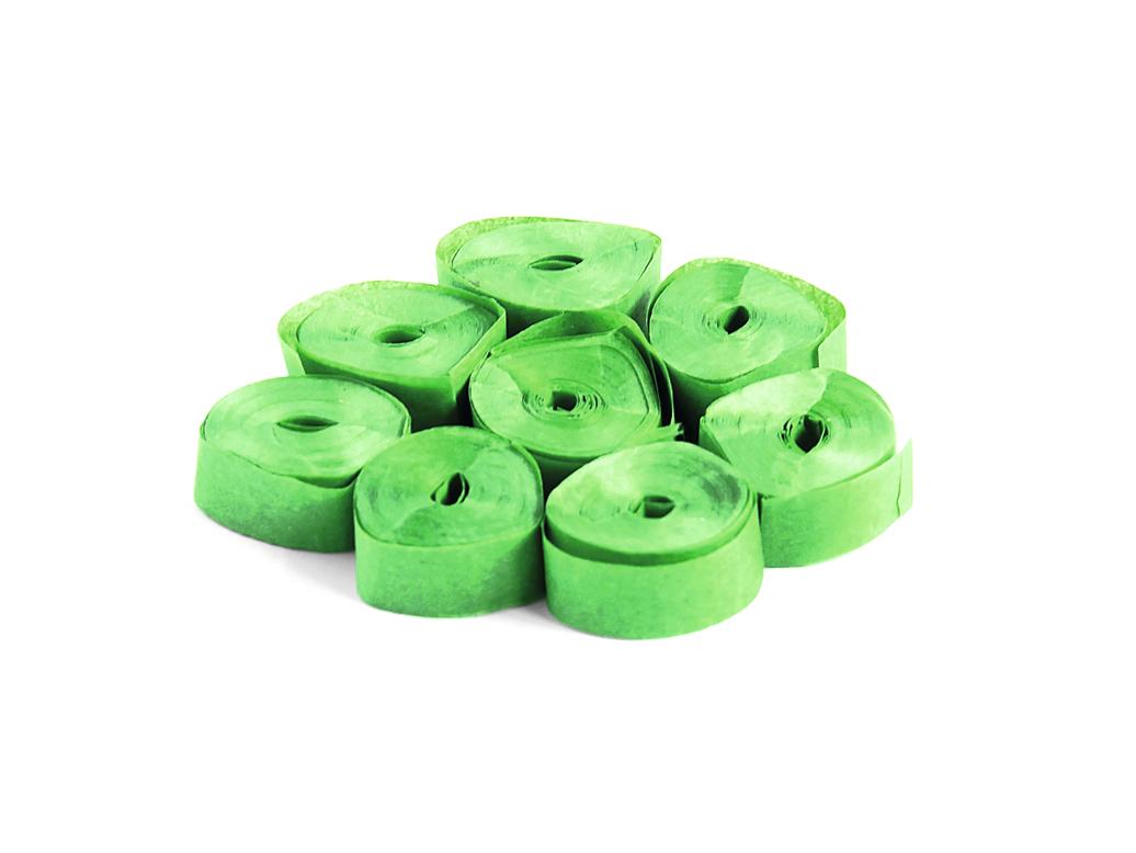 Tcm Fx pomalu padající konfety-serpentýny 5mx0.85cm, tmavě zelené, 100x