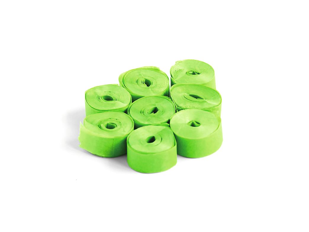 Tcm Fx pomalu padající konfety-serpentýny 5mx0.85cm, světle zelené, 100x