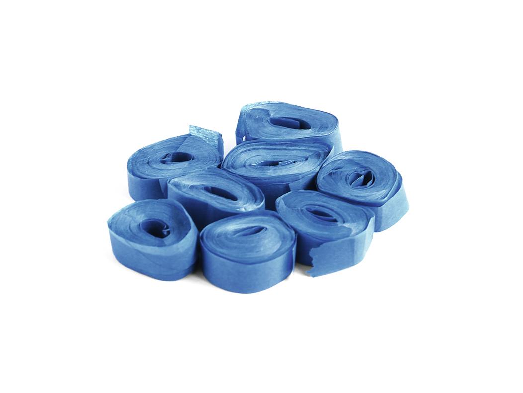 Tcm Fx pomalu padající konfety-serpentýny 5mx0.85cm, tmavě modré, 100x