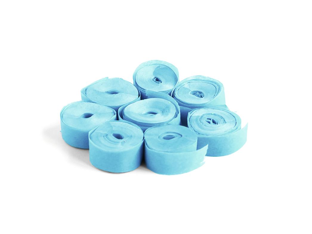 Tcm Fx pomalu padající konfety-serpentýny 5mx0.85cm, světle modré, 100x