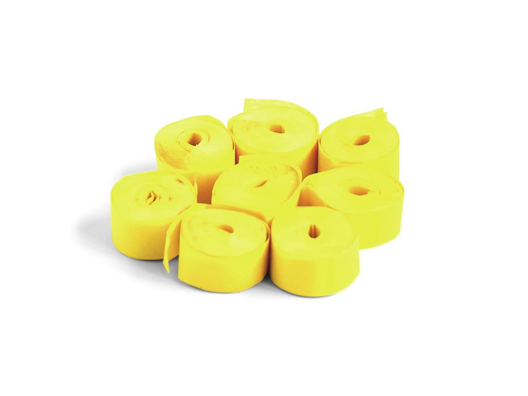 Tcm Fx pomalu padající konfety-serpentýny 5mx0.85cm, žluté, 100x