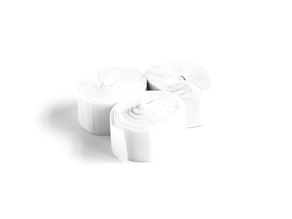 Tcm Fx pomalu padající konfety-serpentýny 10mx1.5cm, bílé, 32x