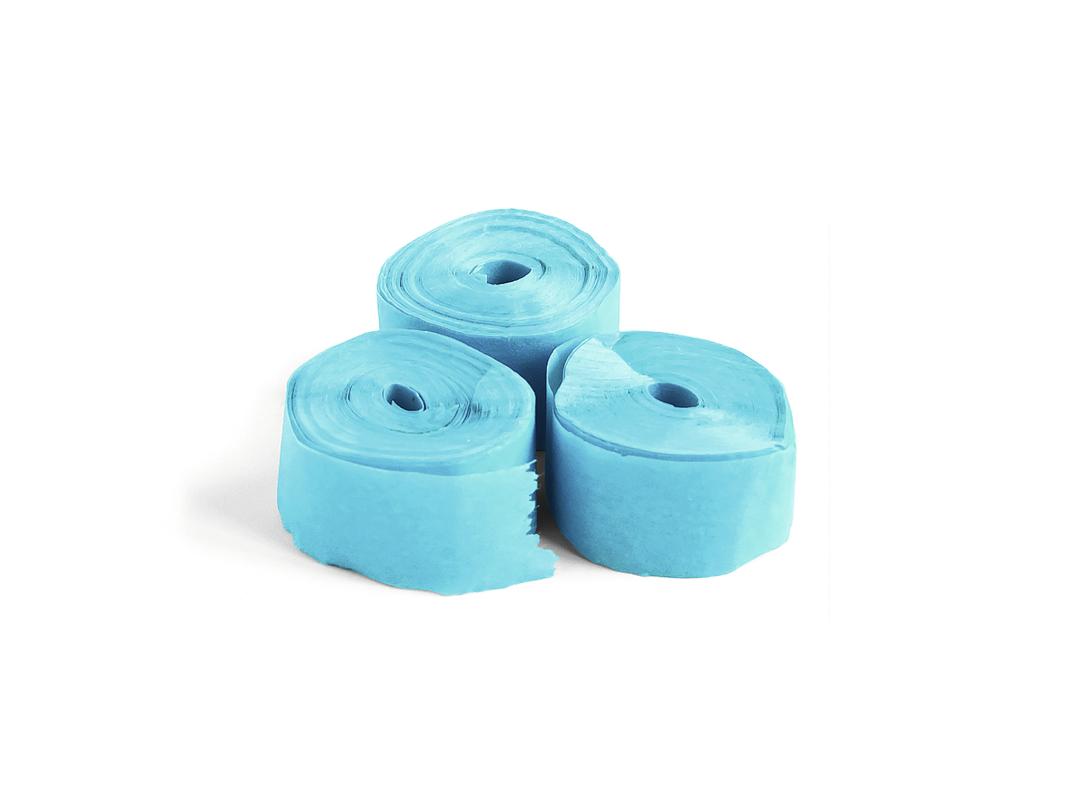 Tcm Fx pomalu padající konfety-serpentýny 10mx1.5cm, světle modré, 32x