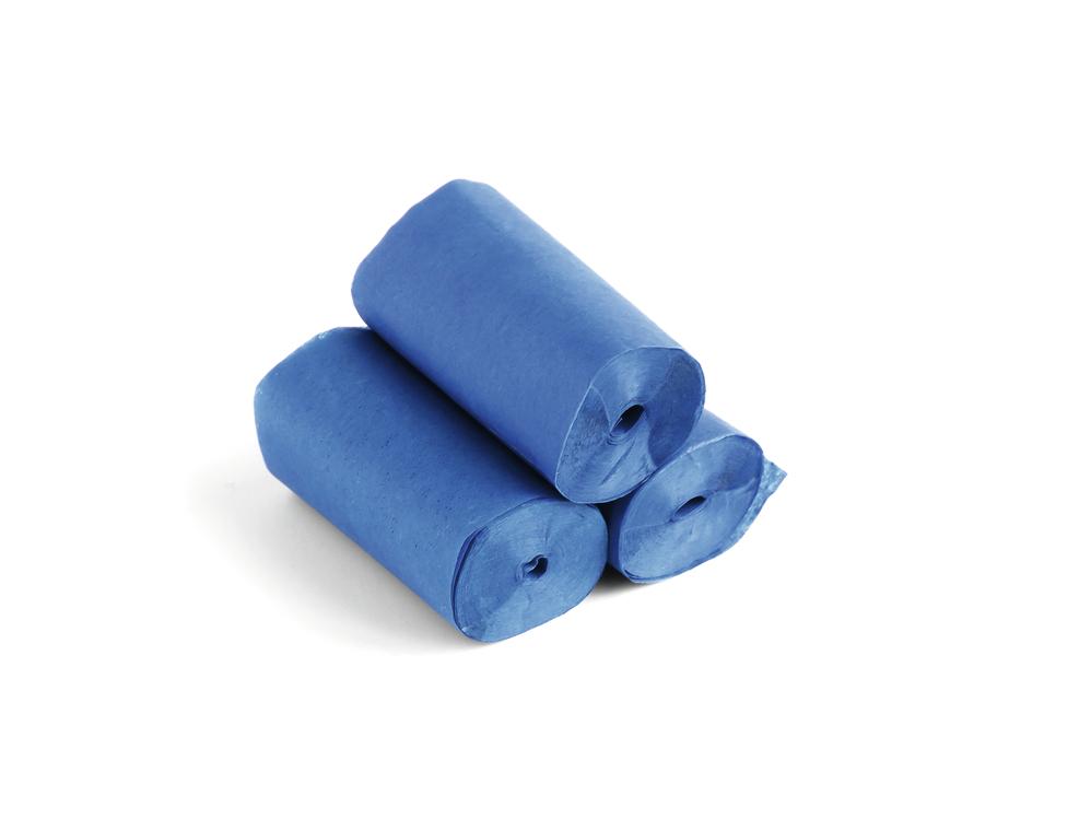 Tcm Fx pomalu padající konfety-serpentýny 10mx5cm, tmavě modré, 10x