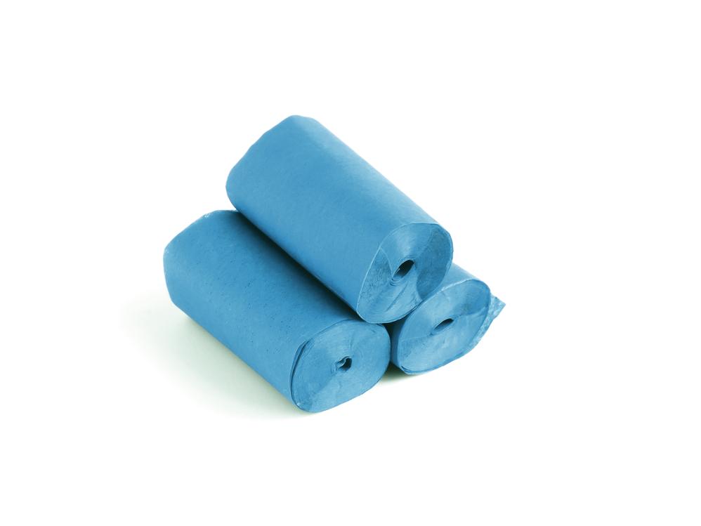 Tcm Fx pomalu padající konfety-serpentýny 10mx5cm, světle modré, 10x