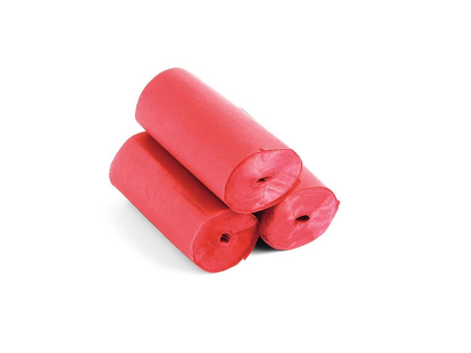 Tcm Fx pomalu padající konfety-serpentýny 10mx5cm, červené, 10x
