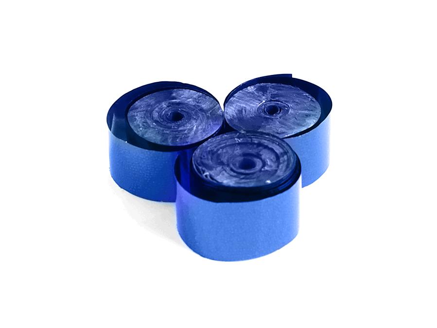 Tcm Fx metalické konfety-serpentýny 5mx0.85cm, modré, 100x