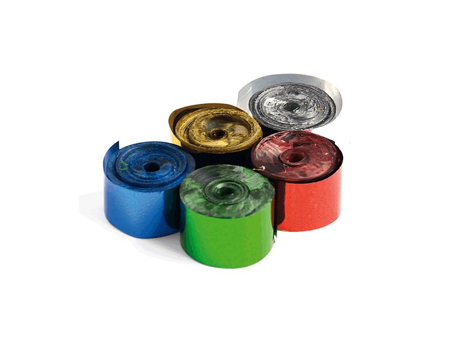 Tcm Fx metalické konfety-serpentýny 5mx0.85cm, barevné, 100x
