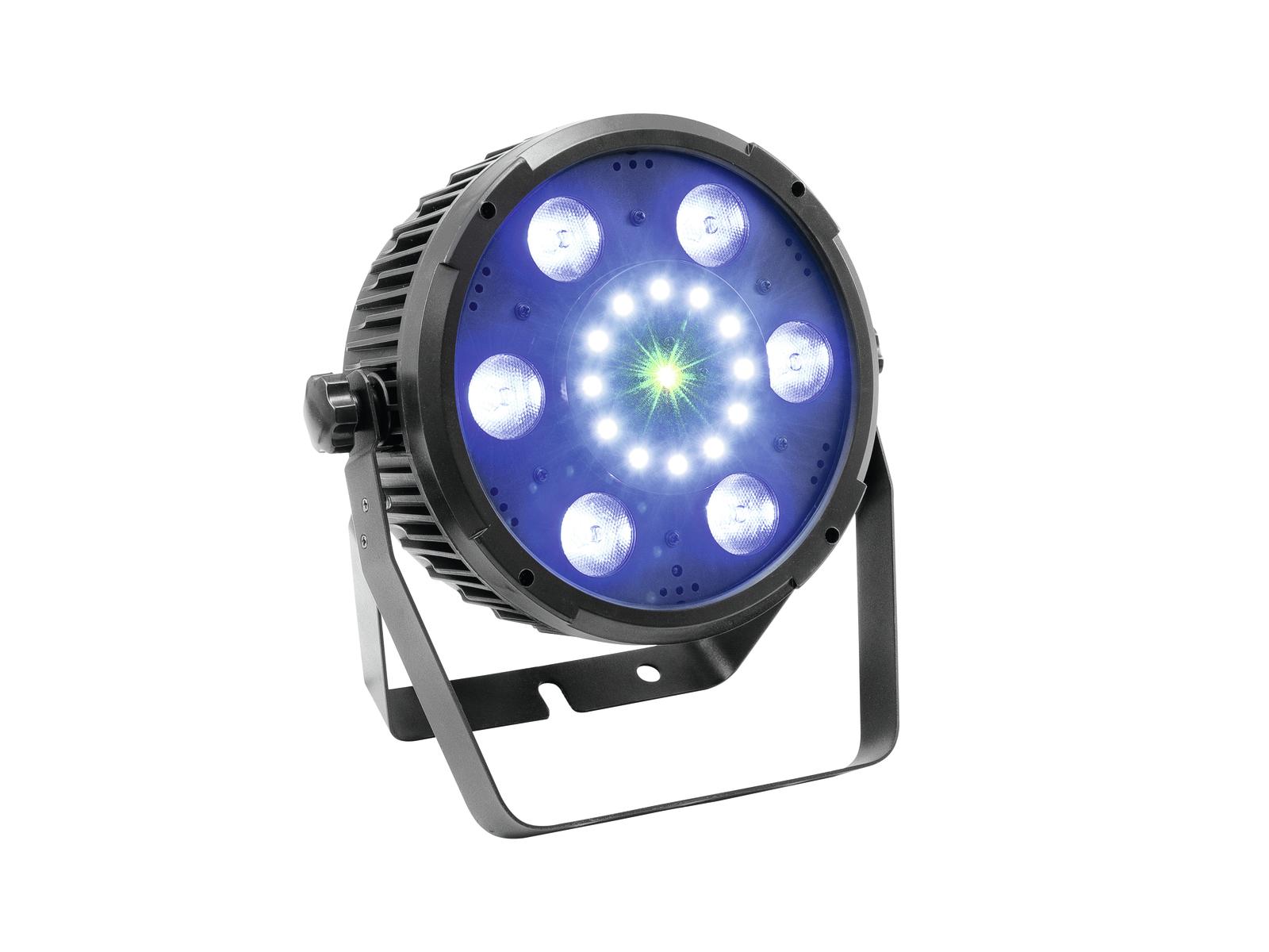 Eurolite LED PAR Slim FX, Strobo, RG Laser, DMX