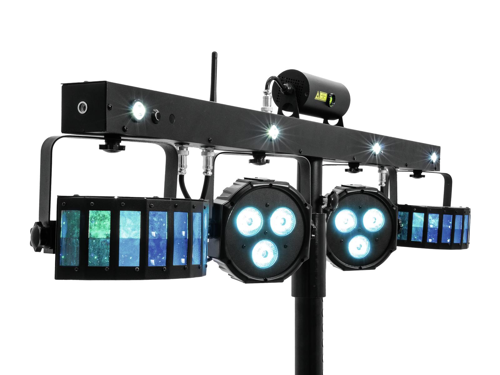 Eurolite LED KLS Efekt + Laser SET DMX, světelná rampa
