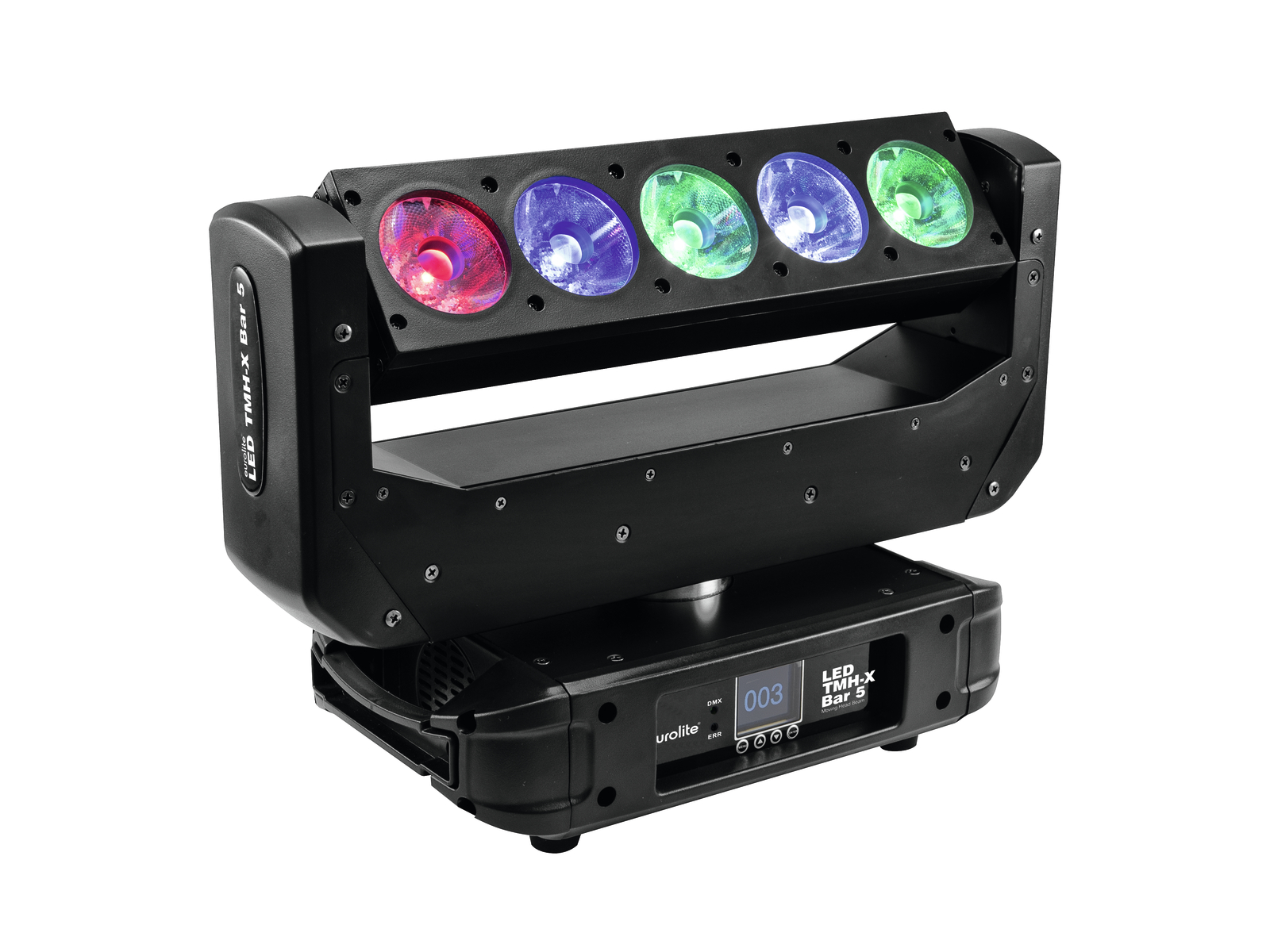 Eurolite LED TMH-X BAR 5, otočná hlavice/lišta, 5x15W RGBW LED, DM