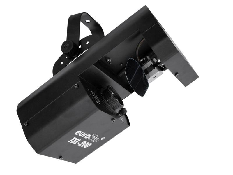 Eurolite LED TSL-200, 1x20W COB DMX rotační goba scan, světelný ef