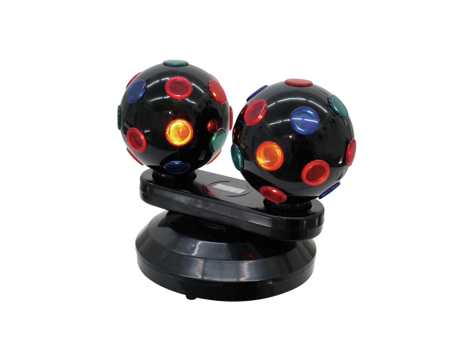 Eurolite Mini Double Ball II, světelný efekt