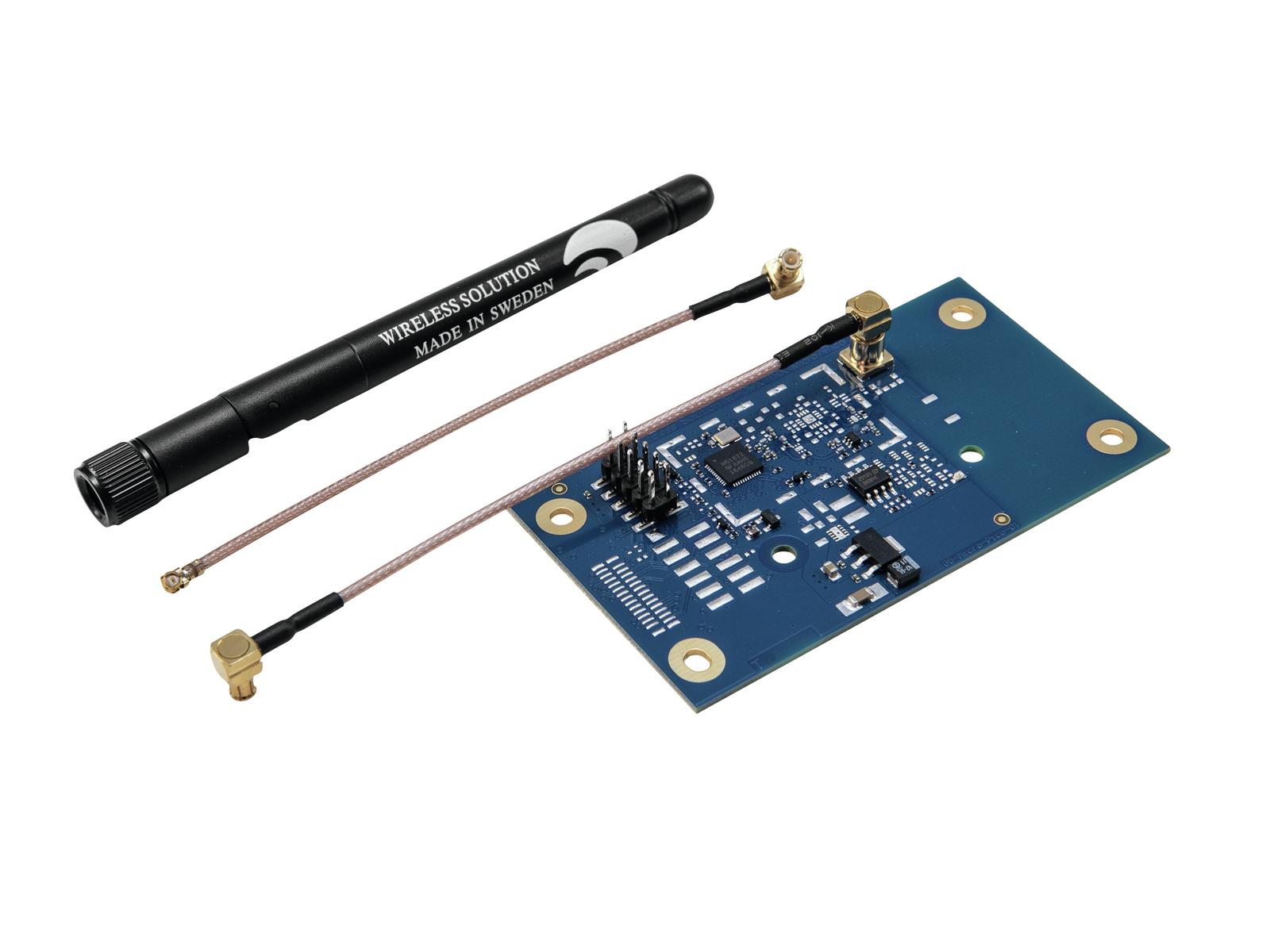 Futurelight WDR-G4, základní deska pro bezdrátový DMX přijímač
